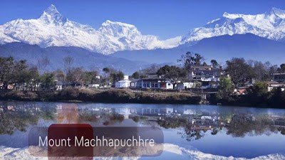 Nepal Tourist Place Mount Machhapuchhre